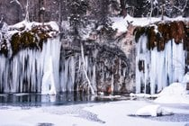 Cascate ghiacciate