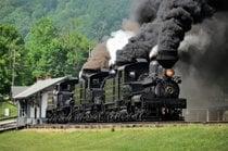 Fahrten auf der Scenic Railroad