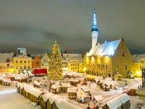 Mercado de Navidad en Tallinn