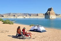 Camping no Lago Powell
