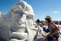 Siesta Key Crystal Classic International Sand Sculpting Festival
