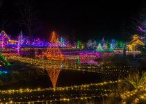 Luci di Natale in Idaho