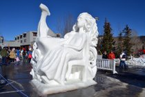 Esculturas de nieve de Breckenridge