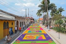 Holy Week and Easter Carpets (Alfombras)