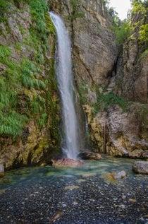 Grunas Wasserfall in Theth
