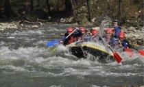 Canoa, kayak y rafting de agua blanca