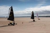 Yachting en tierra o arena