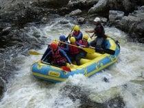 Rafting en rápidos