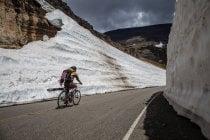 Ciclismo nel Parco Nazionale Glaciale