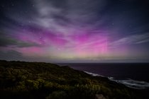 Aurora Australis or Southern Lights