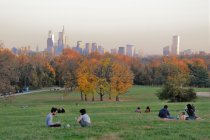 Herbstlaub in Philadelphia