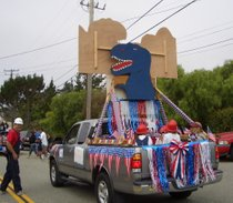 4th of July in Santa Cruz