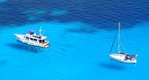 Sailing around the Balearic Islands