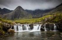 Piscinas de hadas de la Isla de Skye
