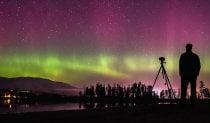 Nordlichter oder Aurora Borealis