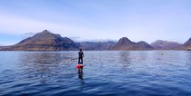 Paddleboarding de pie