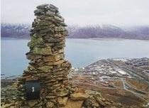 Postkassen en Platåfjellet
