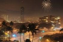New Year's Eve in Honolulu