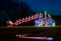 Winter Festival of Lights at Watkins Park