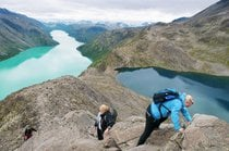 Hiking in Jotunheimen National Park