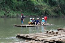 Bamboo Rafting (Rainy Season)