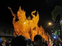 Candle Festival in Ubon Ratchathani