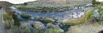 Nager dans la rivière Boiling
