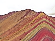 Montaña Rainbow de senderismo