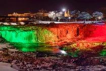 País de las Maravillas de Invierno en Falls Park