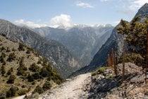 Caminhadas no Parque Nacional do Desfiladeiro de Samaria