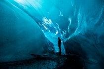Glacier Ice Caves