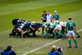 Rugby in Edinburgh: Six Nations Cup