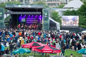 Das internationale Jazzfestival von Vancouver