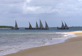 New Year's Lamu Dhow Race