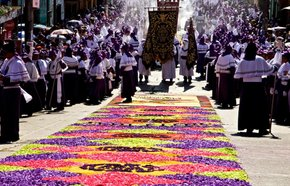 Semana Santa (Holy Week) in Antigua