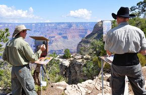 Célébration de l'art du Grand Canyon