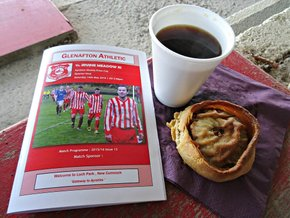 Scotch Pie and Bovril