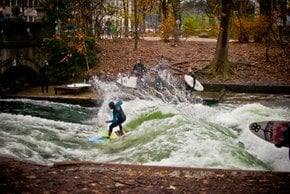 Urban Surfing in Munich