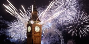 London New Year's Eve Fireworks & Traditions