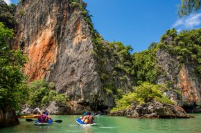 Kayaking in Phang Nga Bay