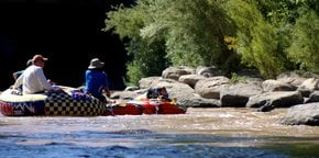 Truckee River Tubing