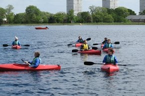 Watersports at West Reservoir Centre
