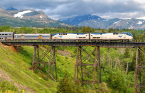 Train to Glacier National Park