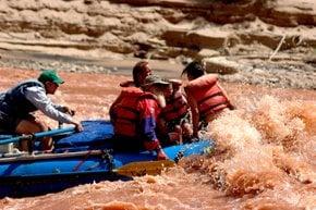 Cataratto Canyon Rafting