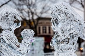 Das Plymouth Ice Festival