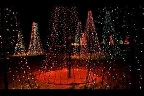 Las luces de Navidad de Des Moines