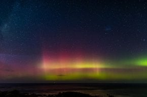 Southern Lights or Aurora Australis