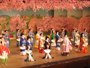 Geisha Dances in Kyoto