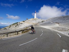 Cycling around Mont Ventoux