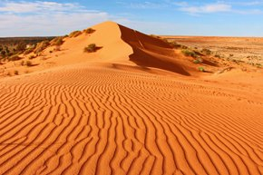 Simpson, the World's Largest Sand Dune Desert